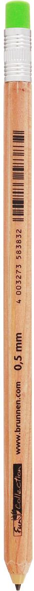 Brunnen Карандаш механический с ластиком27318\BCDМеханический карандаш Brunnen - это незаменимый атрибут современного делового человека в офисе и дома. Корпус выполнен из качественного прочного пластика под дерево. Карандаш оснащен автоматической кнопкой из цветного ластика и обладает минимальным расходом грифеля, благодаря инновационной технологии. Уважаемые клиенты! Обращаем ваше внимание на цветовой ассортимент ластика. Поставка осуществляется в зависимости от наличия на складе.