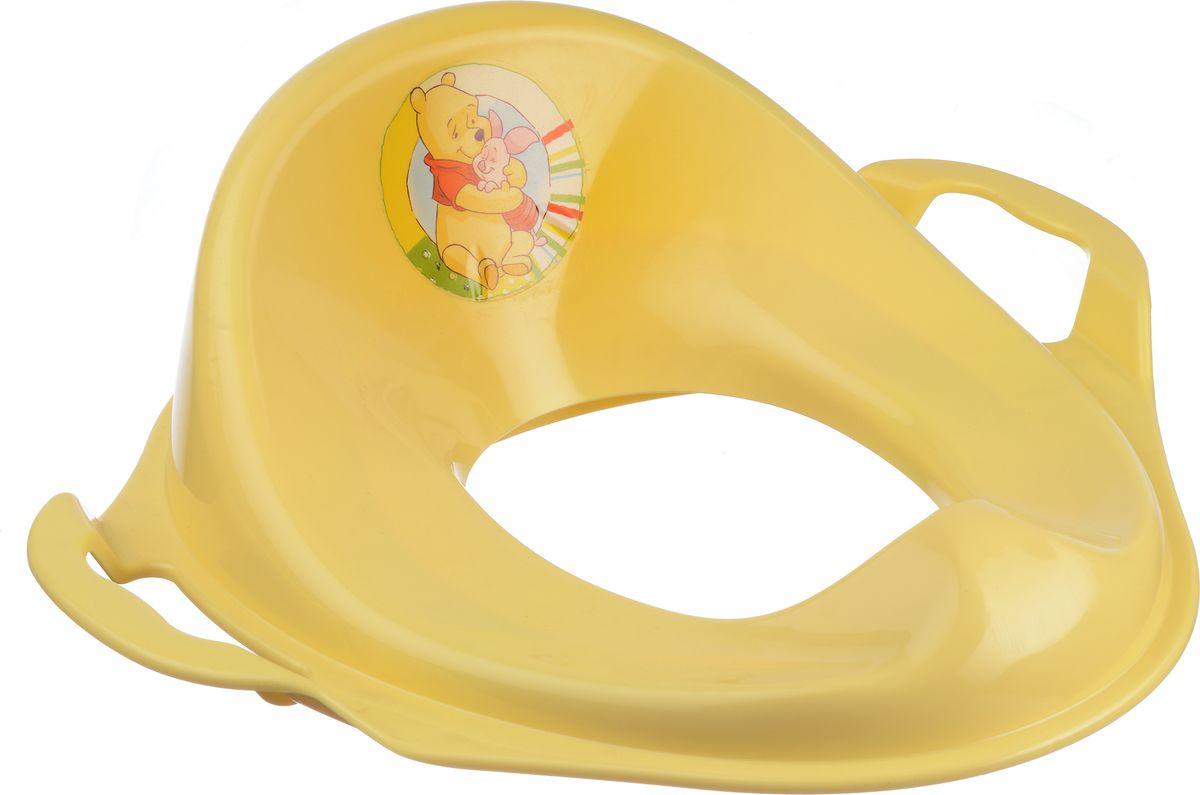 Disney Накладка на унитаз детская цвет банановый