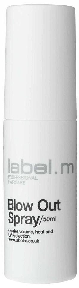 Label.m Спрей для обьёма 50 млLFST0050Кондиционирует, увлажняет и защищает волосы при использовании фена и утюгов. Защищает от влажности. Придает объем, легкую фиксацию. Содержит инновационный комплекс Enviroshield, который защищает волосы от термического воздействия во время укладки и от УФ лучей и воздействия окружающей среды.