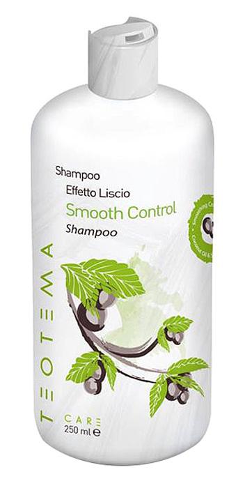 Teotema Разглаживающий шампунь 1000 млTEO 4801Разглаживающий шампунь Teotema с революционным разглаживающим комплексом делает волосы послушными. Шампунь Teotema нежно очищает, смягчает и разглаживает пористые и пушащиеся волосы. Придает интенсивный блеск. Насыщает волосы маслами и натуральным кератином. Позволяет сохранить волосы прямыми и гладкими в течение длительного времени. Защищает от неблагоприятного воздействия окружающей среды. Для лучшего эффекта шампунь Teotema следует использовать в комплекте с разглаживающим кондиционером Teotema из этой серии.