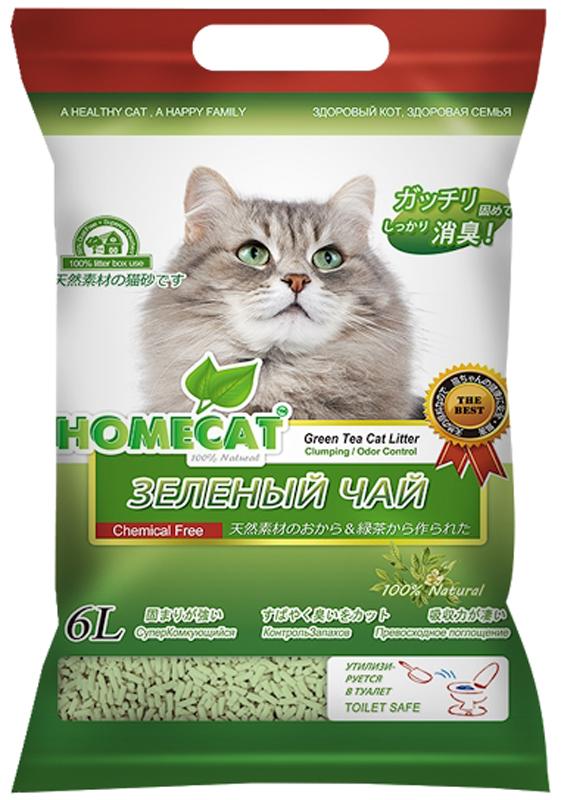 Наполнитель комкующийся HomeCat Эколайн. Зеленый чай, 6 л63018Наполнитель HomeCat - экологически чистый, безопасный и на 100% биоразлагаемый, изготовленный из растительного сырья комкующийся наполнитель для кошачьих туалетов. С повышенной способностью водопоглощения и блокирования запаха. Безопасен для животного и человека. Поддерживает чистоту кошачьего туалета длительное время, подавляет запах, предотвращает рост бактерий.Обладает повышенным абсорбирующими свойствами, отлично удерживает влагу и запах внутри комка. Легкое удаление комков. Сверхнизкое содержание пыли. Натуральное сырье характеризуется приятной мягкостью и максимальным отсутствием пыли, обеспечивает приятные ощущения для кошачьих лап и органов дыхания. При производстве используется термообработка для уничтожения вредных микроорганизмов. Проходит несколько тестов безопасности. Добавление натуральных ароматизаторов позволяет долго поддерживать приятный аромат наполнителя. Вакуумная упаковка предотвращает появление бактерий и микроорганизмов. Сверхбыстрое образование комка, который...