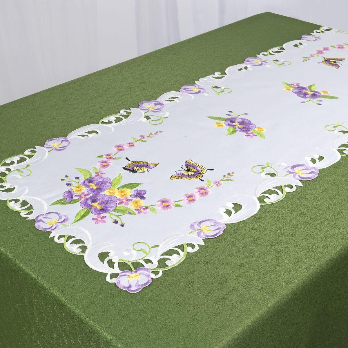 Дорожка для декорирования стола Schaefer, 40x110 см. 07745-23307745-233