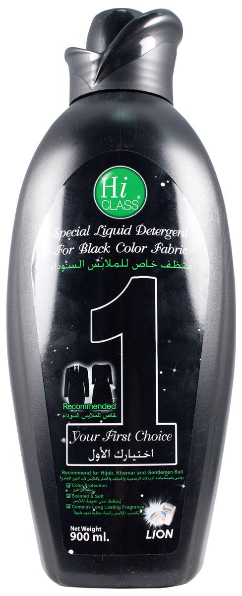 Гель для стирки LionThailand Hi-Class, концентрат, для черных вещей, 900 мл804791Новейшая японская технология обеспечивает несколько главных преимуществ по сравнению с обычными средствами: концентрацию 1 к 6, эффективность в борьбе даже с застарелыми пятнами, защиту от бактерий и потери цвета, а также безопасность для окружающей среды и кожи рук.. Гель гарантирует Вам безупречное качество стирки.. Придаст вещам приятный аромат, свежесть и мягкость, которая сохранится надолго. Идеален для стирки темных вещей. .Подходит для всех типов тканей, ручной и машинной стирки.. Способ применения: для ручной стирки смешать ? колпачка (20 мл) с 4 литрами воды. Замачивать белье в течение 5 минут. .Бережно простирать и прополоскать водой. .Для машинной стирки: использовать ? колпачка (20 мл) на 4 литра воды. . Способ хранения: хранить в недоступном для детей сухом месте. . Меры предосторожности: не наносить средство прямо на одежду. .При попадании средства в глаза промыть их водой. .При необходимости обратиться к врачу. Состав: вода, сульфат натрия лаурил...