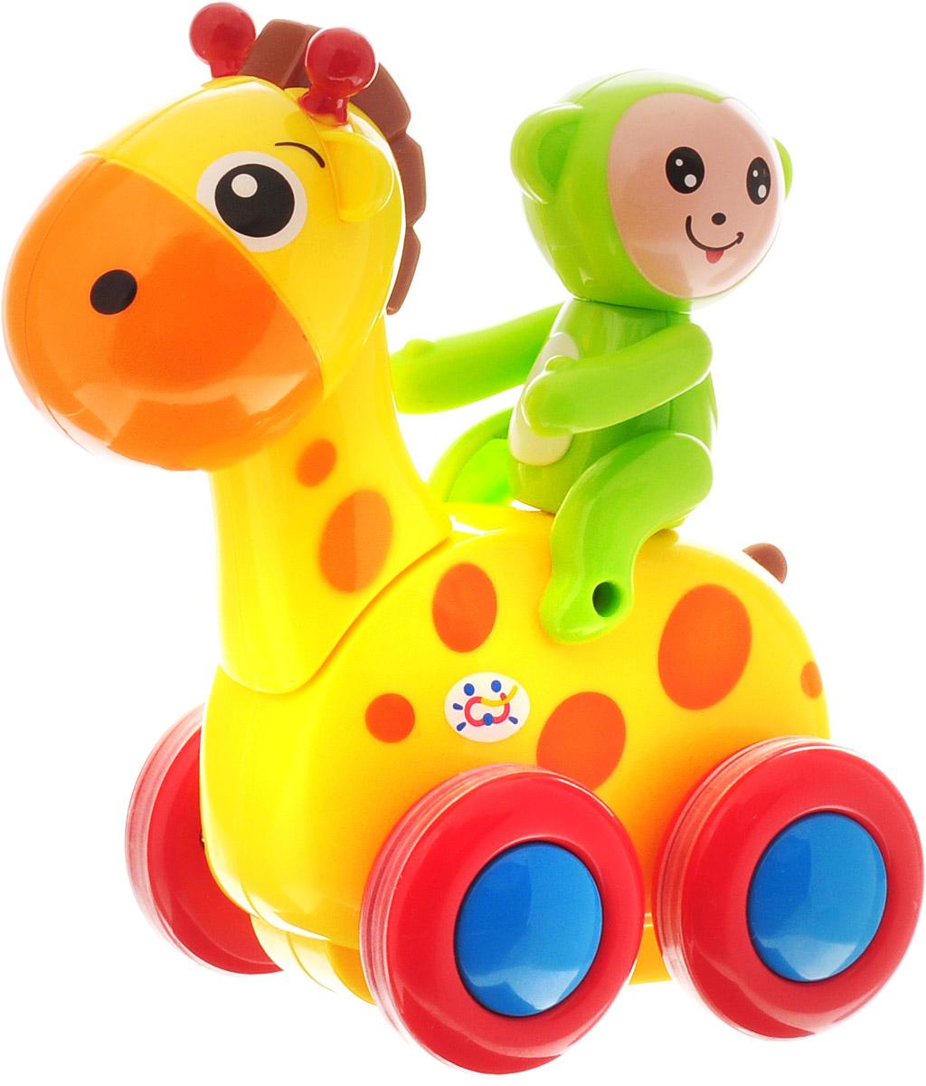 Huile Toys Машинка инерционная Smart Deer