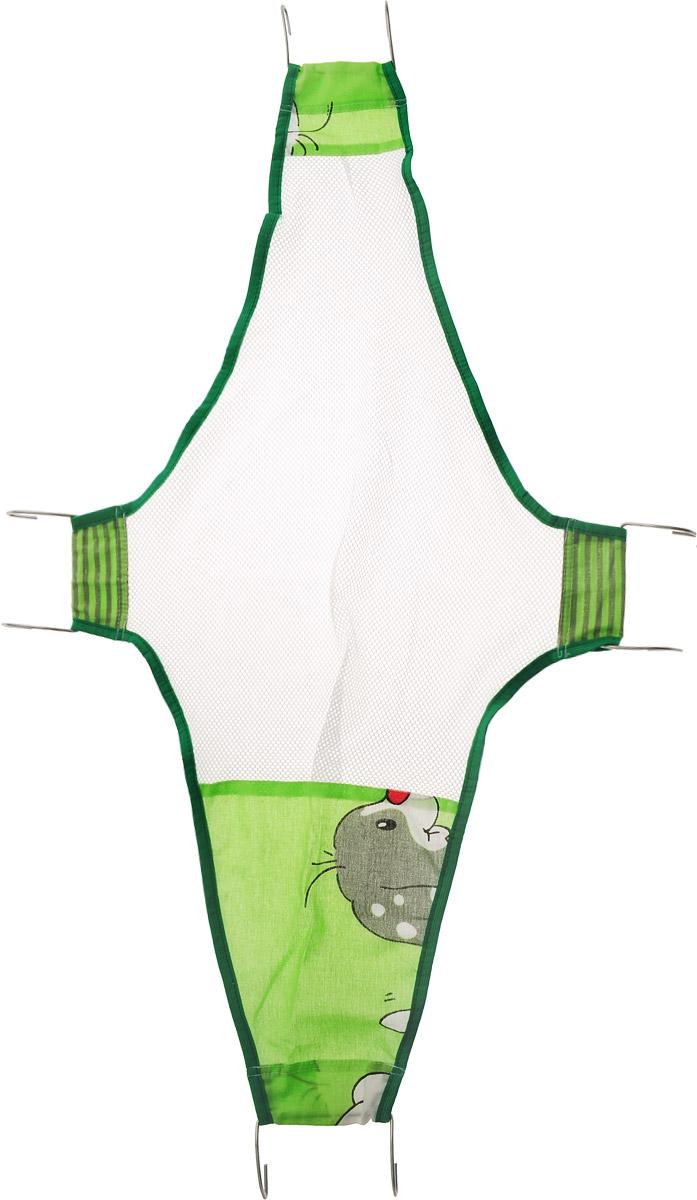 Фея Подставка для купания Гамак Собачка цвет зеленый