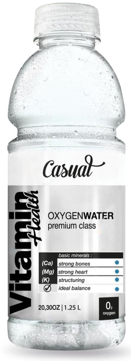 Vitamin Health вода питьевая обогащенная кислородом и минералами, 1,25 л4627089660091Насыщает клетки кислородом, дает заряд бодрости, повышает работоспособность, сохраняет молодость и красоту.