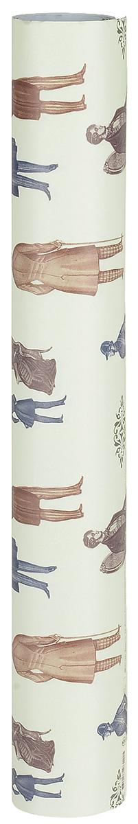 Бумага упаковочная Даринчи № 17, 69 х 48 см, 2 листаБумага17Замечательная упаковочная бумага