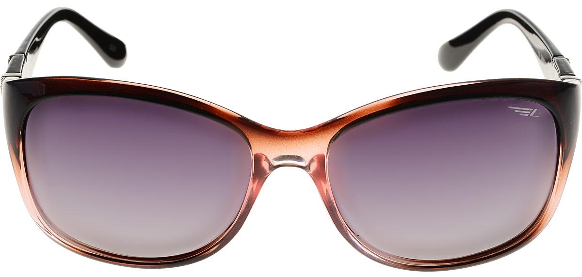 Очки женские поляризационные Legna, цвет: черный. S8505CS8505CСтильные солнцезащитные очки Legna сделают приятной прогулку в жаркий солнечный полдень. Их также по достоинству оценят водители, так как эта модель очков оснащена уникальными поляризационными линзами, которые задерживают раздражающие блики, что гарантирует полный зрительный комфорт и, как результат, повышенную безопасность. Высокоэффективный встроенный УФ фильтр обеспечивает совершенную защиту от вредных ультрафиолетовых лучей Кроме того, это эффектный аксессуар, который наверняка станет «изюминкой» вашего индивидуального стиля.