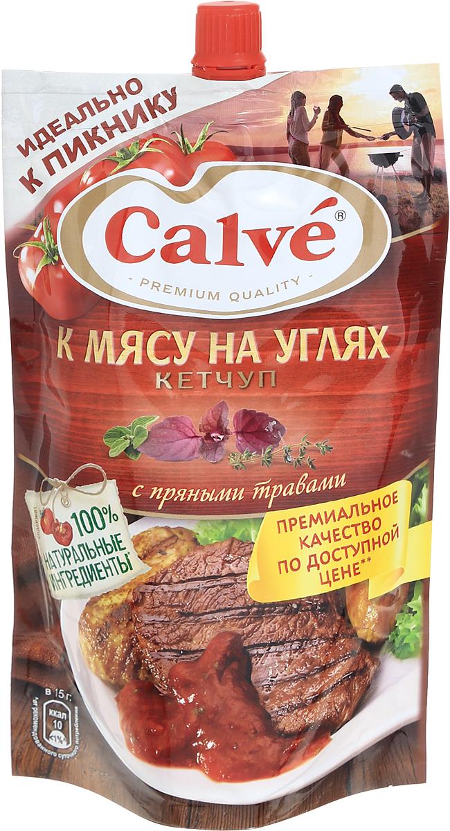 Calve Кетчуп К мясу на углях, 350 г