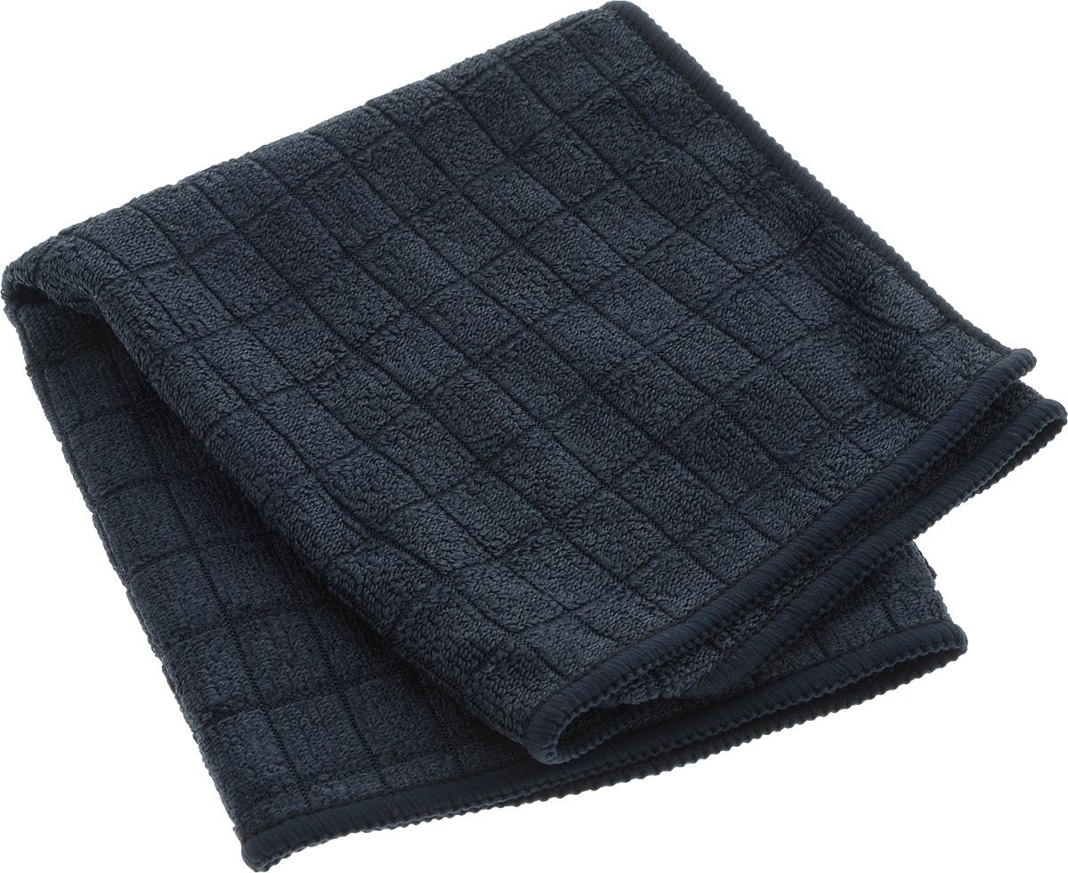 Салфетка для мытья и полировки автомобиля Sapfire Micro Lines, цвет: темно-синий, 30 х 40 см3005-SFM_темно-синийСалфетка Sapfire Micro Lines выполнена из высококачественной микрофибры (85% полиэстер, 15% полиамид). Микрофибровое полотно удаляет грязь с поверхности намного эффективнее, быстрее и значительно более бережно в сравнении с обычной тканью, что существенно снижает время на проведение уборки, поскольку отсутствует необходимость протирать одно и то же место дважды. Использовать салфетку можно для чистки как наружных, так и внутренних поверхностей автомобиля. Используя подобную мягкую ткань, можно проникнуть даже в самые труднодоступные места и эффективно очистить от пыли и бактерий все поверхности. Микрофибра устойчива к истиранию, ее можно быстро вернуть к первоначальному виду с помощью машинной стирки при малом количестве моющих средств.