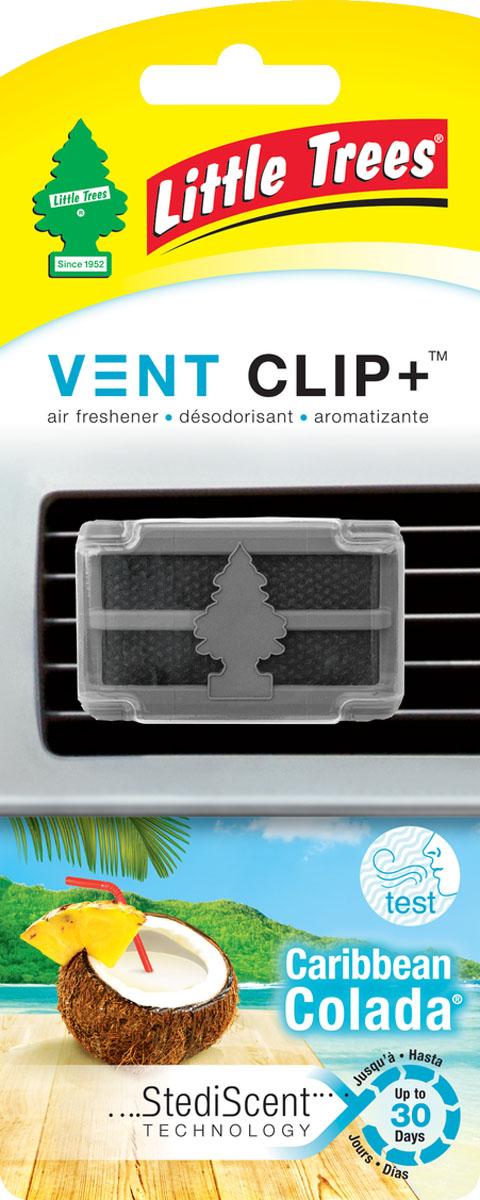 Ароматизатор для дефлектора Little Trees Карибский коктейль. Клип +CTK-52425-24Освежитель воздуха Little Trees уникален по эффективности действия, насыщенности и стойкости запаха. Подходит для использования в салоне автомобиля, а также в помещениях.