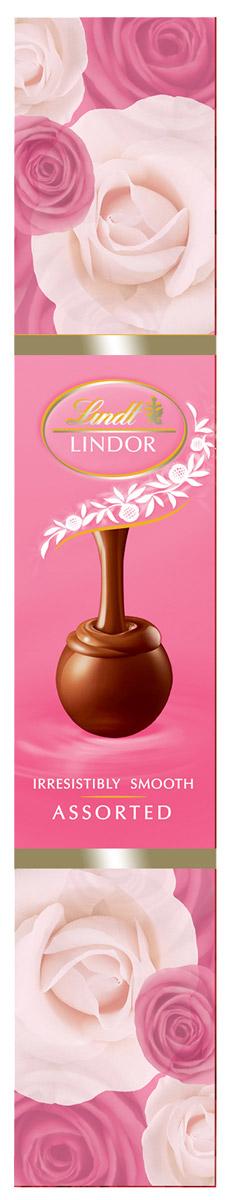 Lindt Линдор Конфеты из белого шоколада Клубника и сливки, 75 г4620012750562Линдор. Конфеты из белого шоколада с клубникой, сливками и нежной, тающей начинкой.