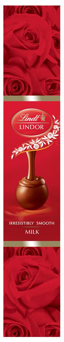 Lindor Lindt Линдор Конфеты из молочного шоколада Роза, 75 г 4620012750548