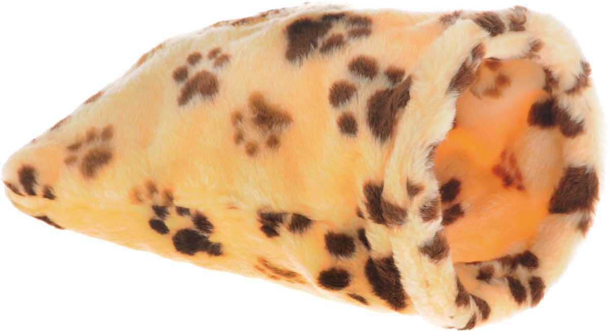 Лежак для животных Elite Valley Мешок, цвет: желтый, коричневый, 20 х 20 х 40 смЛ-18/1_желтый, лапки коричневыеНеобычный лежак Elite Valley Мешок станет лучшим подарком для вашего любимца. Изделие выполнено из искусственного меха и оснащен внутри металлическим кольцом. Мягкий, теплый мешок надолго привлечет внимание животного, обеспечит интересным времяпровождением, а также даст возможность прятаться внутри от холода и посторонних взглядов.
