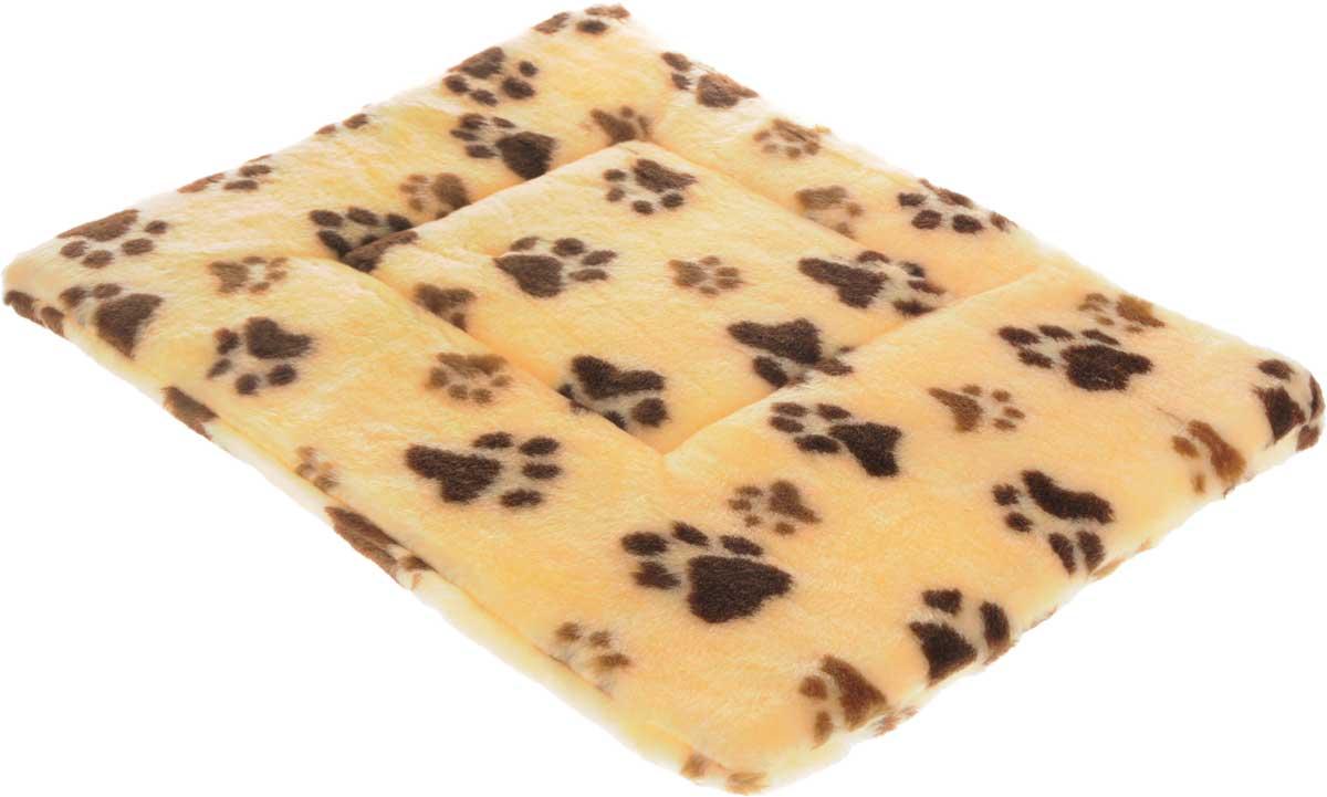 Лежак для животных Elite Valley Матрасик, цвет: желтый, коричневый, 55 х 40 см. Л-8/4Л-8/4_желтый, лапки коричневыеЛежак для животных Elite Valley Матрасик изготовлен из искусственного меха, наполнитель - поролон. Идеален для переносок и использования в автомобиле. Он станет излюбленным местом вашего питомца, подарит ему спокойный и комфортный сон. Высота матраса: 2,5 см.