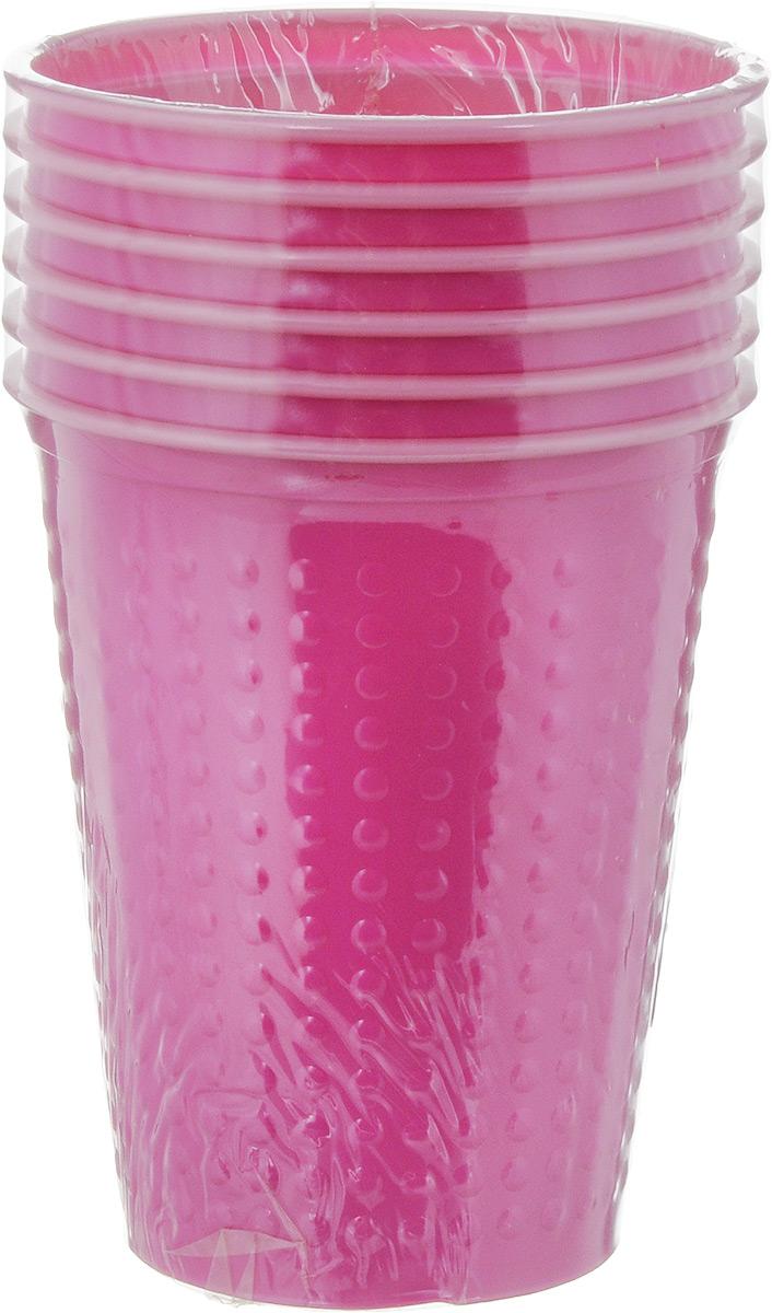 Набор одноразовых стаканов Buffet Biсolor, цвет: фуксия, розовый, 200 мл, 6 шт. 181105181105_розовыйНабор Buffet Biсolor состоит из 6 стаканов, выполненных из полистирола и предназначенных для одноразового использования. Одноразовые стаканы будут незаменимы при поездках на природу, пикниках и других мероприятиях. Они не займут много места, легки и самое главное - после использования их не надо мыть. Диаметр стакана (по верхнему краю): 7 см. Высота стакана: 8 см. Объем: 200 мл.
