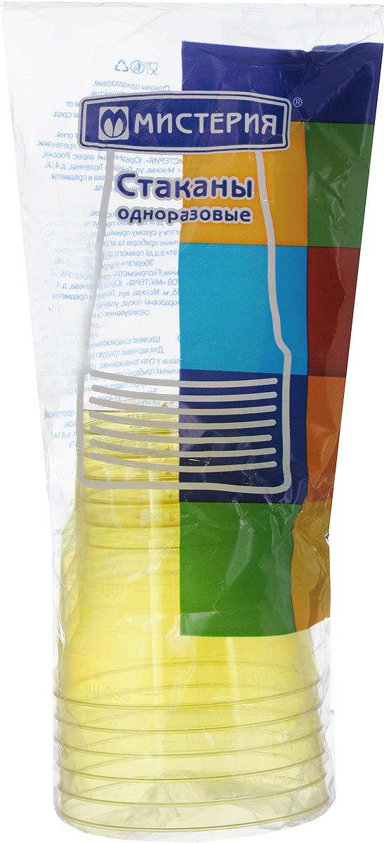 Набор одноразовых стаканов Мистерия Кристалл, цвет: желтый, 200 мл, 6 шт181000_желтыйНабор Мистерия Кристалл состоит из 6 стаканов, выполненных из полистирола и предназначенных для одноразового использования. Одноразовые стаканы будут незаменимы при поездках на природу, пикниках и других мероприятиях. Они не займут много места, легки и самое главное - после использования их не надо мыть. Диаметр стакана (по верхнему краю): 7,5 см. Высота стакана: 8 см. Объем: 200 мл.