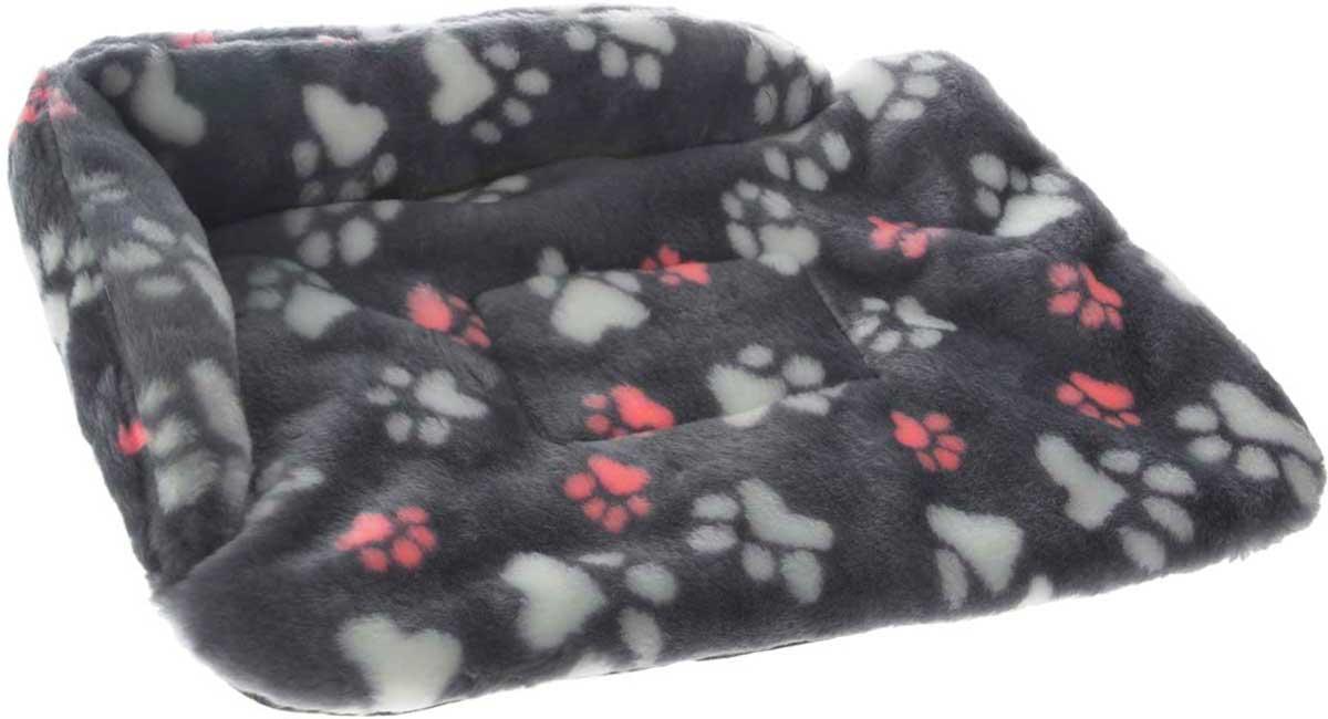 Лежак для животных Elite Valley Софа, цвет: темно-серый, розовый, белый, 56 х 44 х 13 см. Л-6/3Л-6/3_темно-серый, лапки розовые и белыеЛежак для животных Elite Valley Софа изготовлен из искусственного меха и нетканого материала, наполнитель - холлофайбер. Он станет излюбленным местом вашего питомца, подарит ему спокойный и комфортный сон, а также убережет вашу мебель от многочисленной шерсти. На таком лежаке вашему любимцу будет мягко и тепло.