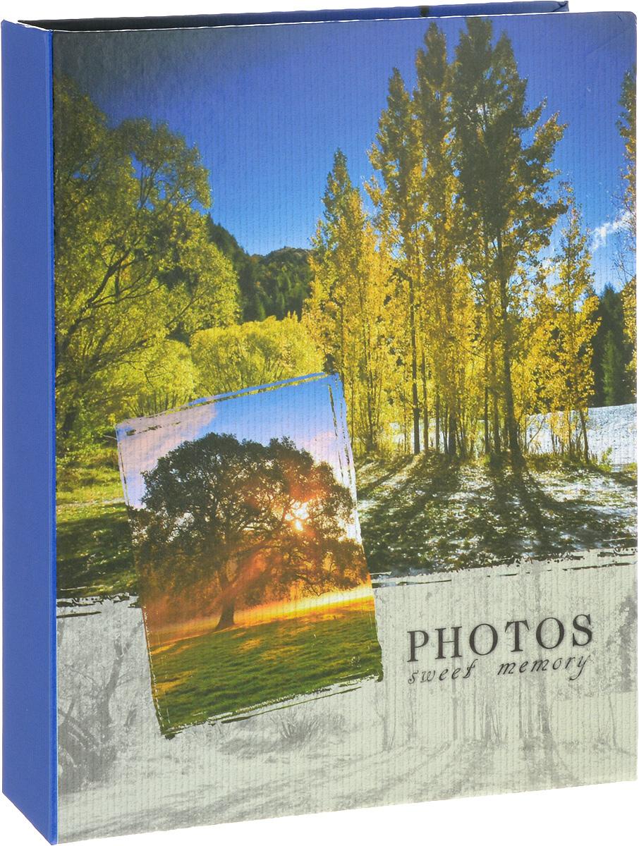 Фотоальбом Platinum Ландшафт - 1, 200 фотографий, 10 х 15 см22226-1_лес, PP46200SФотоальбом Platinum Ландшафт - 1 поможет красиво оформить ваши фотографии. Обложка выполнена из толстого картона и декорирована рисунком с красочным изображением. Внутри содержится блок из 50 листов с фиксаторами-окошками из полипропилена. Альбом рассчитан на 200 фотографий формата 10 х 15 см (по 2 фотографии на странице). Переплет - книжный. Нам всегда так приятно вспоминать о самых счастливых моментах жизни, запечатленных на фотографиях. Поэтому фотоальбом является универсальным подарком к любому празднику. Количество листов: 50.
