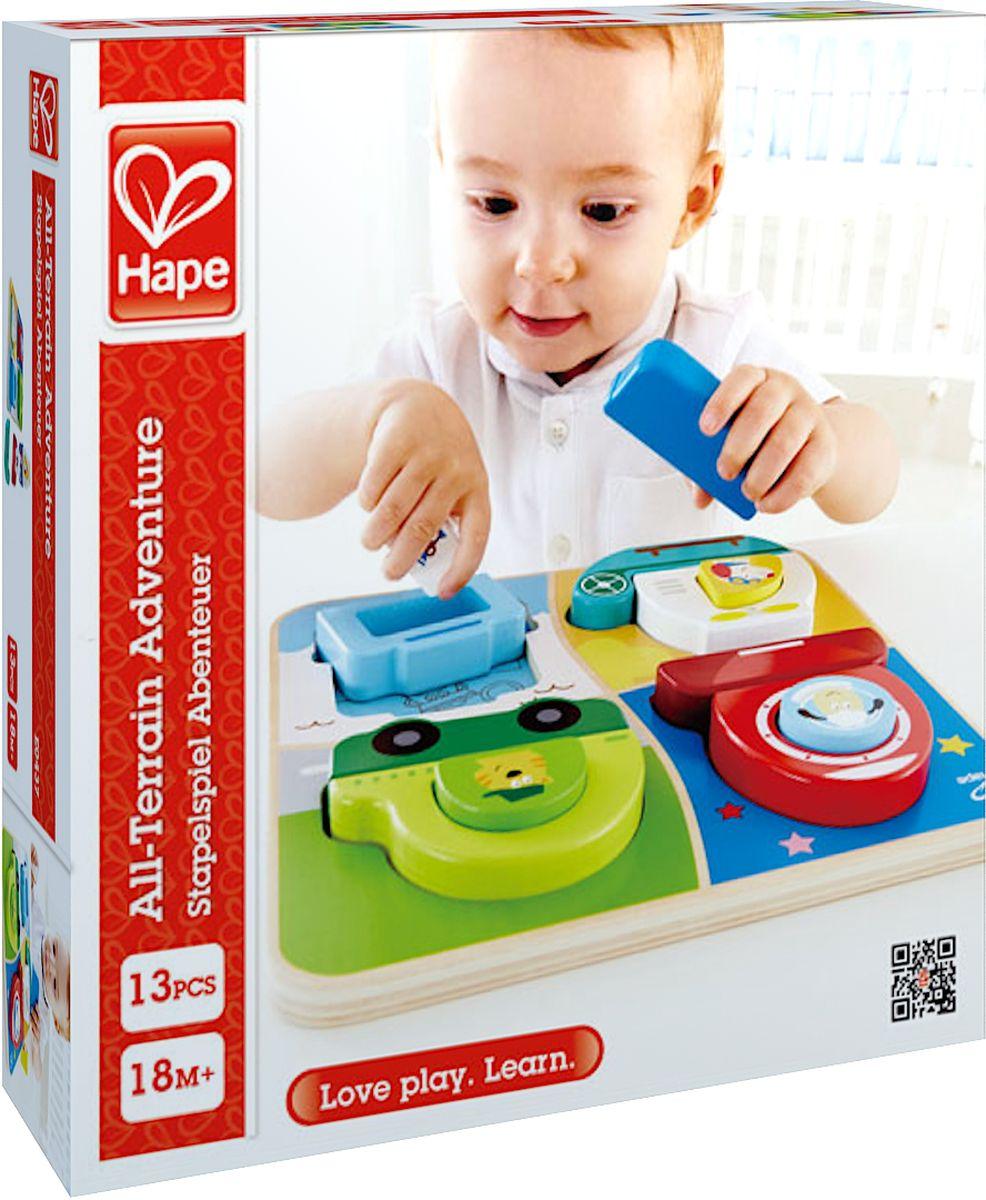 Hape Пазл для малышей Приключения Е0437