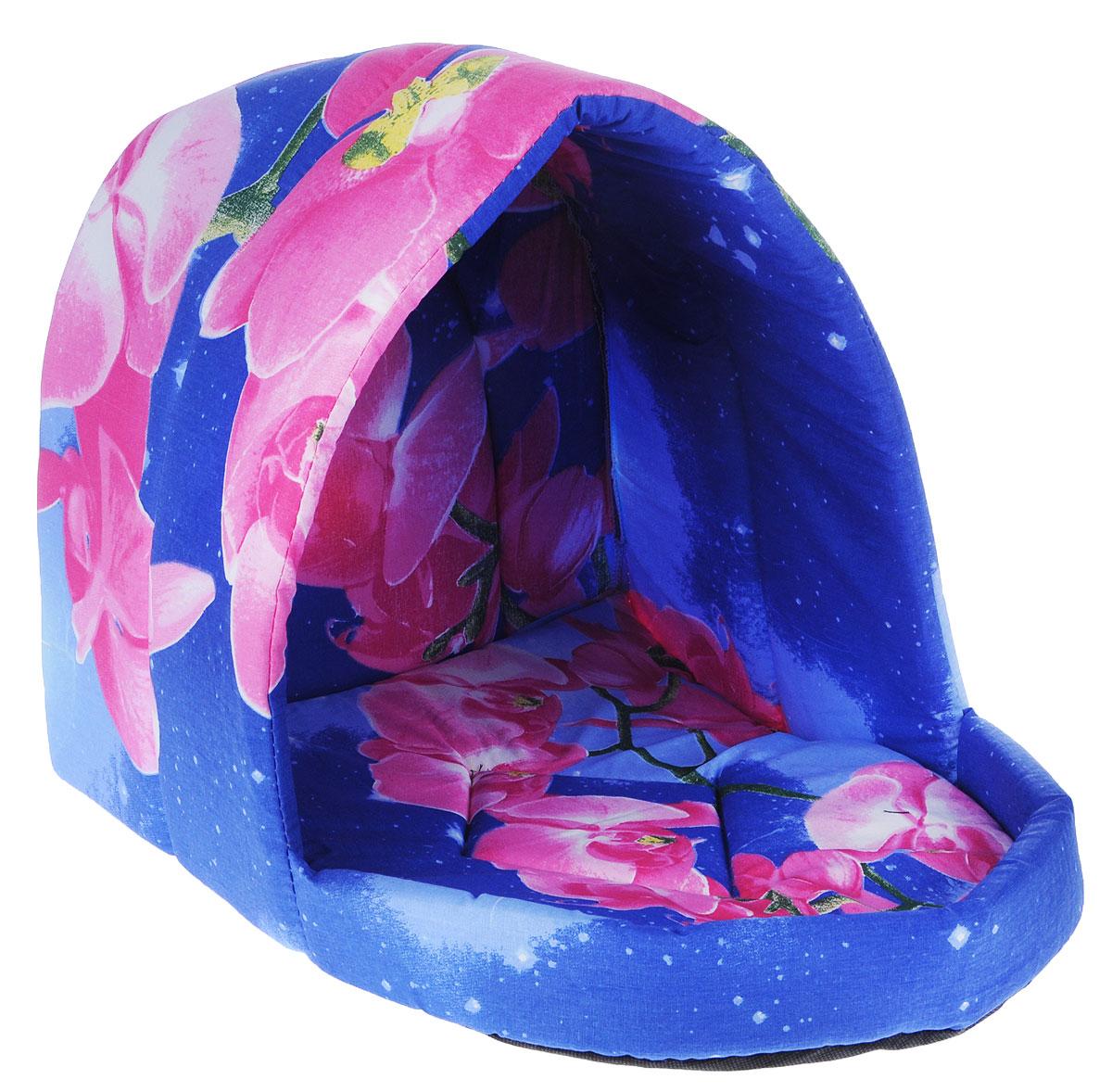 Лежак для животных Elite Valley Люлька, цвет: синий, розовый, 50 х 38 х 38 см. Л-11/4Л-11/4_синий, розовыйЛежак Elite Valley Люлька непременно станет любимым местом отдыха вашего домашнего животного. Изделие выполнено из бязи и нетканого материала, а наполнитель - из поролона. Такой материал не теряет своей формы долгое время. Внутри имеется мягкая съемная подстилка. На таком лежаке вашему любимцу будет мягко и тепло. Он подарит вашему питомцу ощущение уюта и уединенности, а также возможность спрятаться.