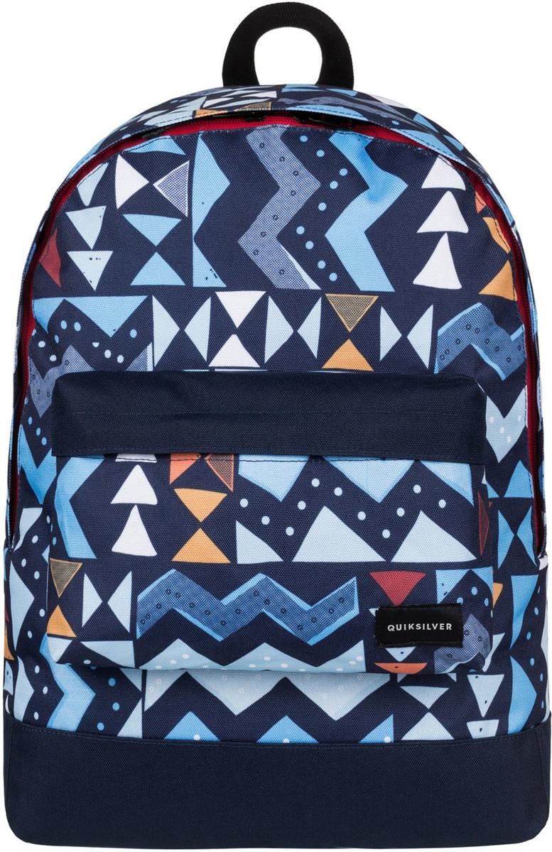 Рюкзак городской мужской Quiksilver Everyday Poster, цвет: синий, 16 л. EQYBP03337-BYH6EQYBP03337-BYH6