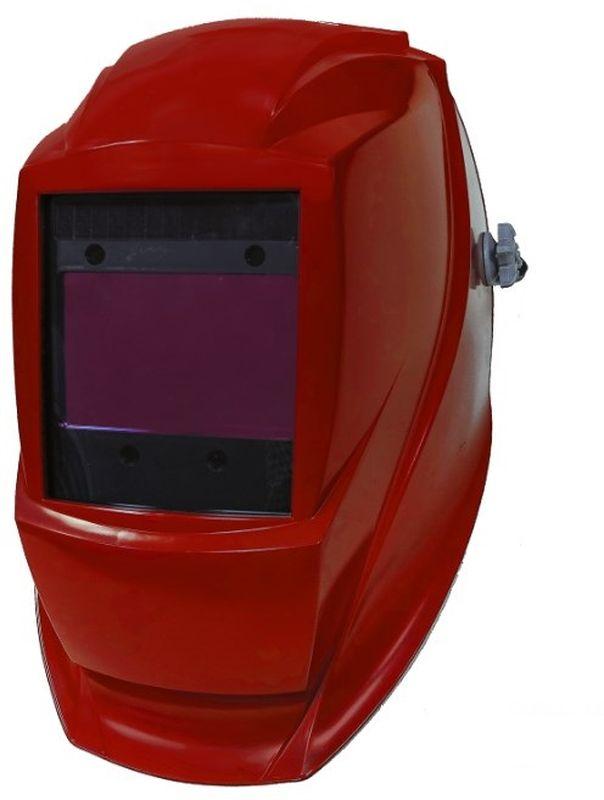 """Щиток сварщика Krass """"Power"""", с АСФ GX 950E, цвет: красный 2962054"""