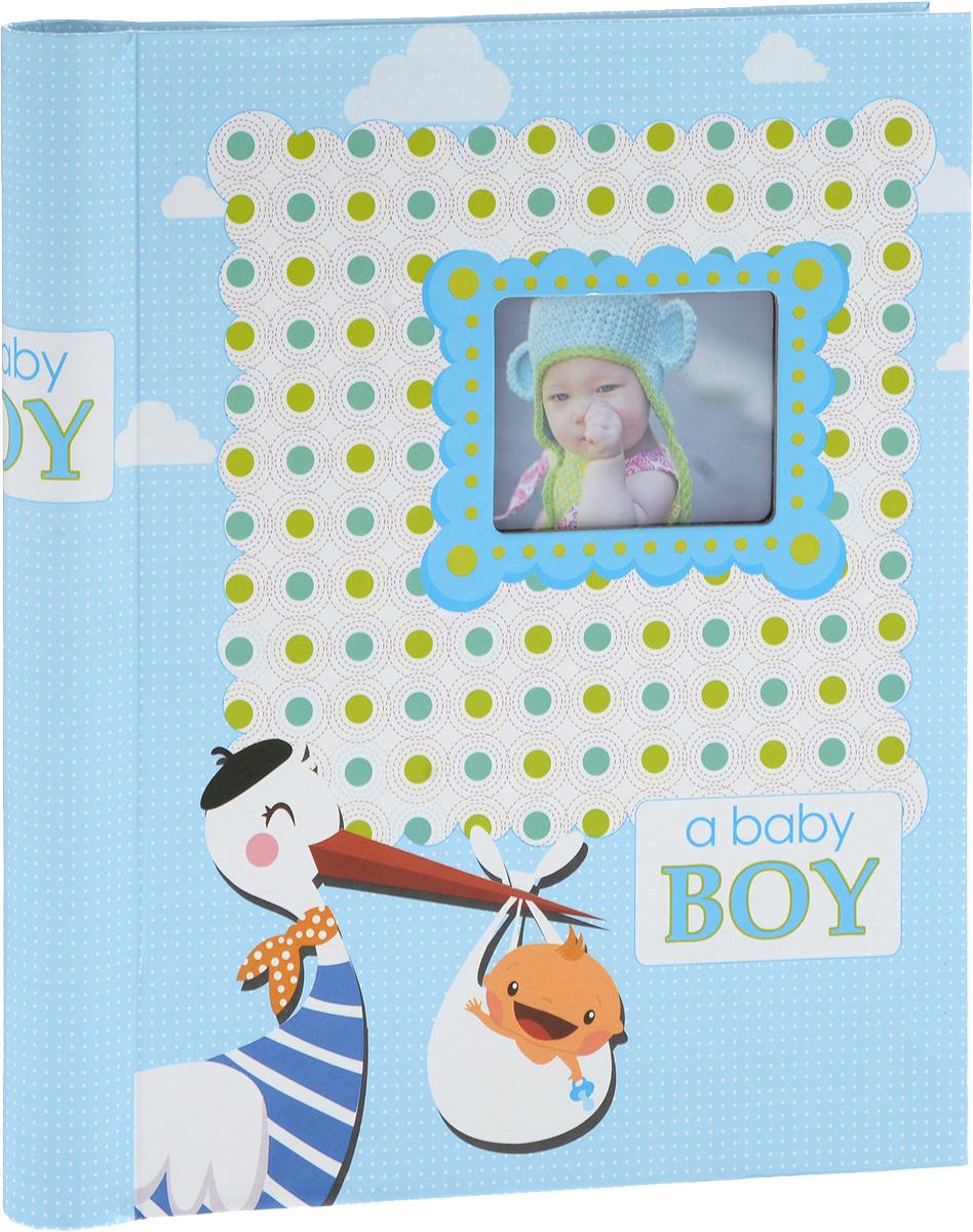 Фотоальбом Platinum Малыши - 2, 30 листов, цвет: голубой3М1614_ голубой, 9820-30/FФотоальбом Platinum Малыши - 2, изготовленный из ламинированного картона с клеевым покрытием и пленки, поможет сохранить вам самые важные и счастливые события жизни вашего ребенка. Этот альбом станет драгоценной памятью для вас, вашего ребенка и, возможно, ваших внуков. Обложка выполнена из толстого картона и оформлена оригинальным рисунком. Лицевая сторона обложки имеет окошечко для фотографии. Внутри содержится 30 магнитных листов, которые крепятся с помощью спирали. Нам всегда так приятно вспоминать о самых счастливых моментах жизни, запечатленных на фотографиях. Размер листа: 22,5 х 28 см.