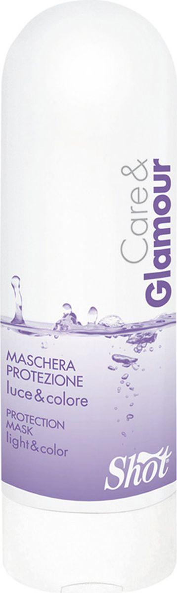 Shot Care and Glamour Protection Mask - Маска защитная для сияния и стойкости цвета 250 млSHCG105Хотите, чтобы после окрашивания ваши волосы долго сохраняли цвет, а сами оставались мягкими и здоровыми? В этом вам поможет Защитная маска для сияния и стойкости цвета Maschera Protezione Care and Glamour от Shot. Ее также рекомендуется использовать для восстановления поврежденных волос. Благодаря своему сбалансированному составу, это средство оказывает практически моментальное действие, питая и увлажняя волосы от корней до самых кончиков. - Содержание в Защитной маске для сияния и стойкости цвета Кеар энд Гламур от Шот экстракта семян подсолнечника увеличивает стойкость цвета и возвращает волосам натуральный блеск, а также является мощным УФ-фильтром и антиоксидантом, защищая волосы от увядания и старения. Низкий уровень рН 4.2 не раздражает кожу, так как способствует запечатыванию чешуек кутикулы, а также выравнивает поверхность волоса, придавая прическе ухоженный вид. - Содержание линалоола, полученного на основе эфирных масел, наполняет Маску особой свежестью и приятным ароматом....
