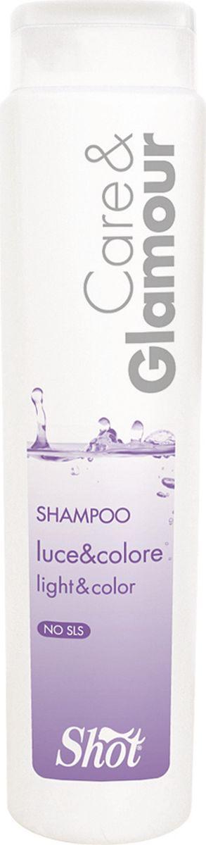 Shot Care and Glamour Technical Syampoo - Технический шампунь pH 4.2 защита цвета и блеск 250 млSHCG111Благодаря своей формуле, он защищает волосы от негативного воздействия, подготавливая их к химическим процедурам. Технический шампунь Кеар энд Гламур имеет низкий уровень рН 4.2, поэтому не раздражает кожу до, во время и после окрашивания волос. Масло подсолнечника буквально обволакивает каждый волосок, тем самым создавая защитную пленку и сохраняя его структуру, продлевая интенсивность цвета. Помимо этого масло подсолнечника является мощным антиоксидантом и помогает сохранить волосы здоровыми и сияющими. Протеины пшеницы питают и увлажняют волосы, делают их эластичными и препятствуют структурному повреждению. Результат: - Технический шампунь Кеар энд Гламур от Шот обеспечит мягкое и нежное очищение волос, защитит их во время процедур химического воздействия. Теперь ваши волосы будут оставаться гладкими и шелковистыми, а стойкость цвета и химической завивки сохранится намного дольше. Состав: - Протеины пшеницы, масло подсолнечника; не содержит SLS (лаурилсульфат натрия) и SLES...