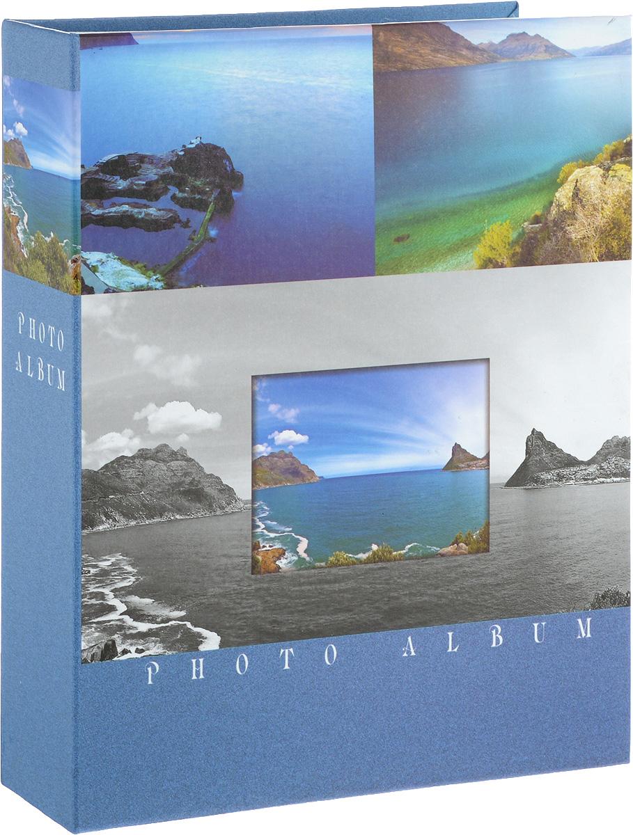 Фотоальбом Platinum Ландшафт-2, на 200 фото. 22226-222226-2_голубойФотоальбом на 200 фото, размер фото 10х15 см. Пластиковые листы с заклепками.