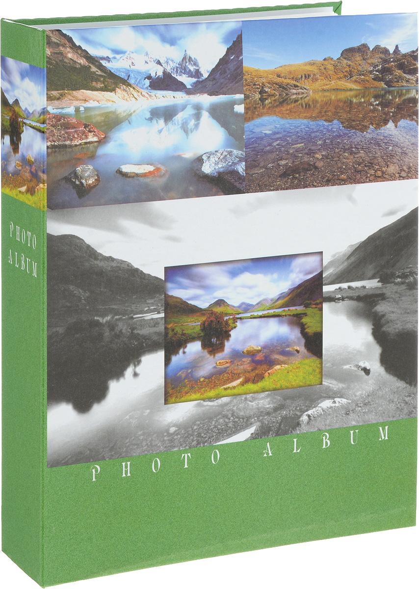 Фотоальбом Platinum Ландшафт - 2, 200 фотографий, цвет: зеленый, серый, коричневый, 10 х 15 см22226-2_зелёный, PP46200SФотоальбом Platinum Ландшафт - 2 поможет красиво оформить ваши фотографии. Обложка выполнена из толстого картона и декорирована рисунком с красочным изображением. Внутри содержится блок из 50 листов с фиксаторами-окошками из полипропилена. Альбом рассчитан на 200 фотографий формата 10 х 15 см (по 2 фотографии на странице). Переплет - книжный. Нам всегда так приятно вспоминать о самых счастливых моментах жизни, запечатленных на фотографиях. Поэтому фотоальбом является универсальным подарком к любому празднику. Количество листов: 50.