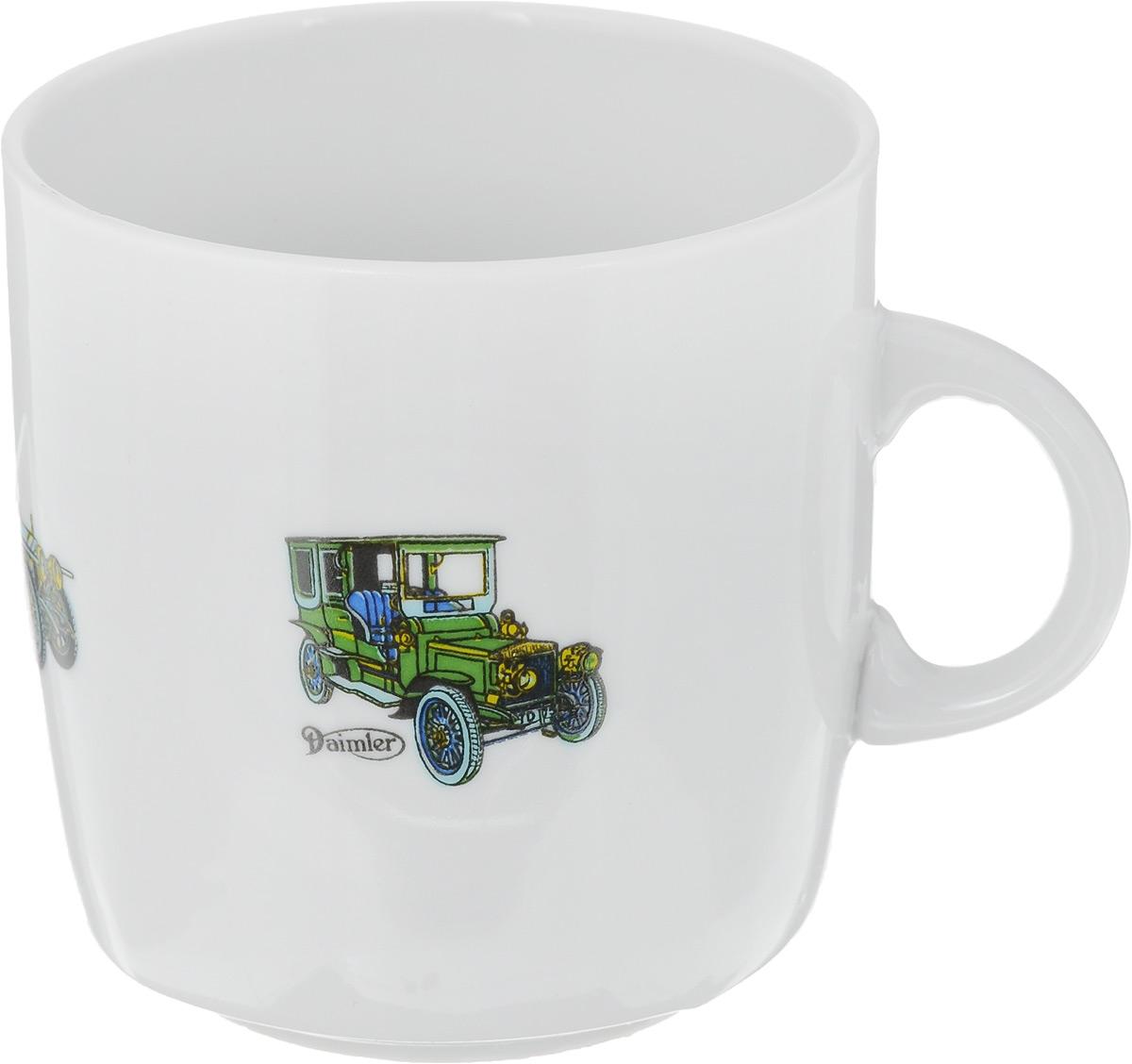 Кружка Фарфор Вербилок Маленькие машинки, цвет: белый, зеленый, синий, 210 мл8712720_белый, зеленый, синийКружка Фарфор Вербилок Маленькие машинки способна скрасить любое чаепитие. Изделие выполнено из высококачественного фарфора. Посуда из такого материала позволяет сохранить истинный вкус напитка, а также помогает ему дольше оставаться теплым. Диаметр кружки (по верхнему краю): 7 см. Высота кружки: 7,5 см.