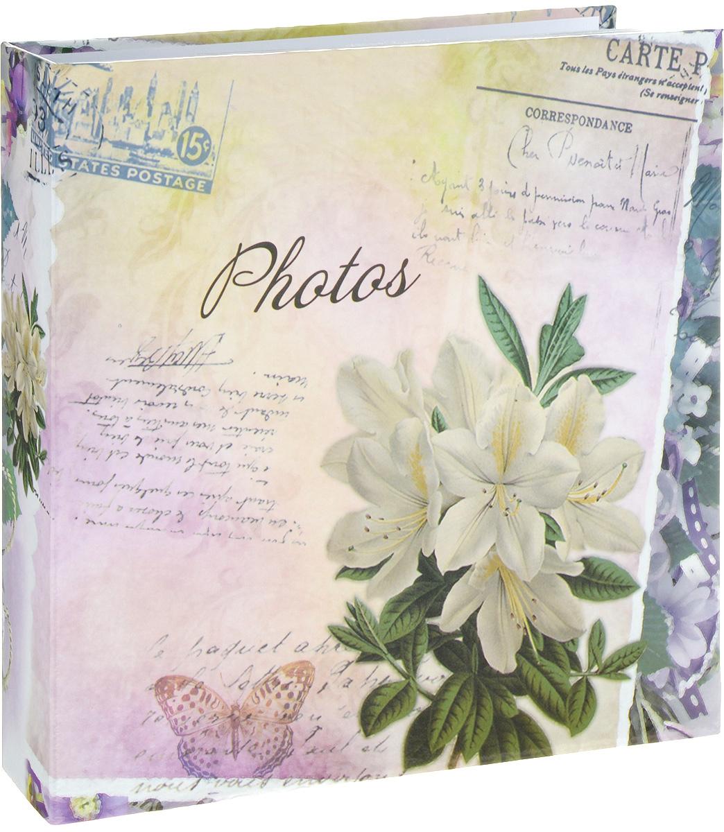 Фотоальбом Platinum Цветочная коллекция - 6, 200 фотографий, цвет: розовый, белый, зеленый, 10 х 15 см22317_белая альстромерия, С-46200LФотоальбом Platinum Цветочная коллекция - 6 поможет красиво оформить ваши фотографии. Обложка выполнена из толстого картона и декорирована красочным рисунком. Внутри содержится блок из 50 листов с фиксаторами-окошками из полипропилена. Альбом рассчитан на 200 фотографий формата 10 х 15 см (по 2 фотографии на странице). Переплет - книжный. Нам всегда так приятно вспоминать о самых счастливых моментах жизни, запечатленных на фотографиях. Поэтому фотоальбом является универсальным подарком к любому празднику. Количество листов: 50.
