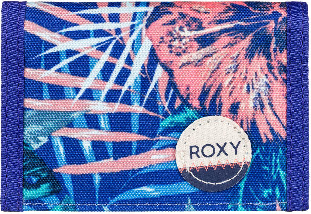 Кошелек женский Roxy Small Beach, цвет: голубой, оранжевый. ERJAA03215-PQF6ERJAA03215-PQF6