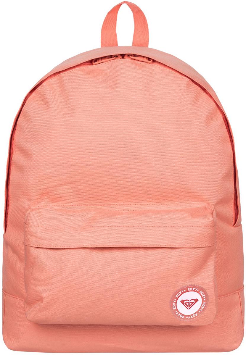 Рюкзак городской женский Roxy Sugar Baby, цвет: розовый, 16 л. ERJBP03404-MCZ0ERJBP03404-MCZ0