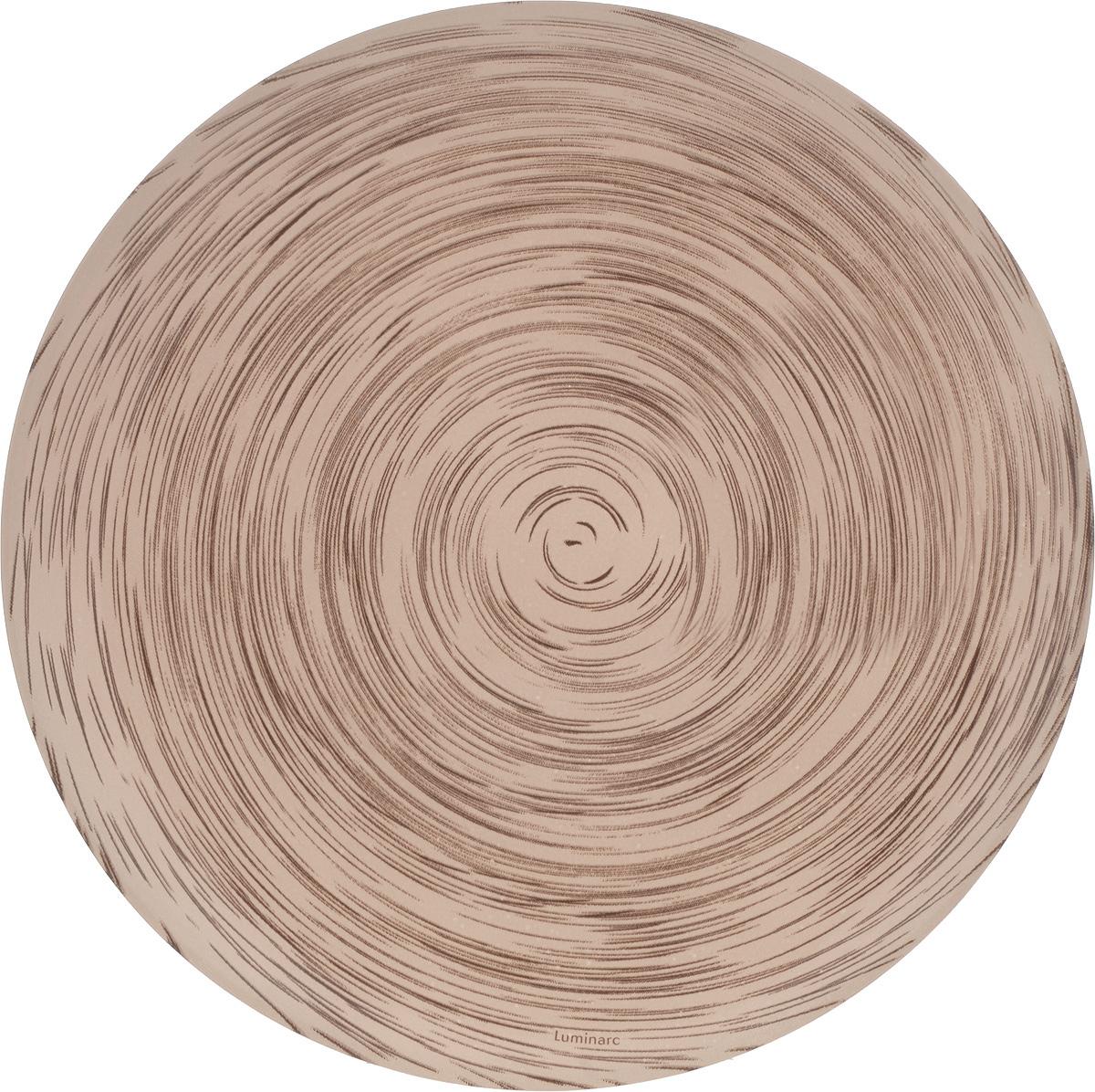 Тарелка десертная Luminarc Stonemania Cappuccino, диаметр 20 смJ2131Десертная тарелка Luminarc Stonemania Cappuccino, изготовленная из высококачественного стекла, имеет изысканный внешний вид. Такая тарелка прекрасно подходит как для торжественных случаев, так и для повседневного использования. Идеальна для подачи десертов, пирожных, тортов и многого другого. Она прекрасно оформит стол и станет отличным дополнением к вашей коллекции кухонной посуды. Диаметр тарелки: 20 см. Высота тарелки: 1,5 см.