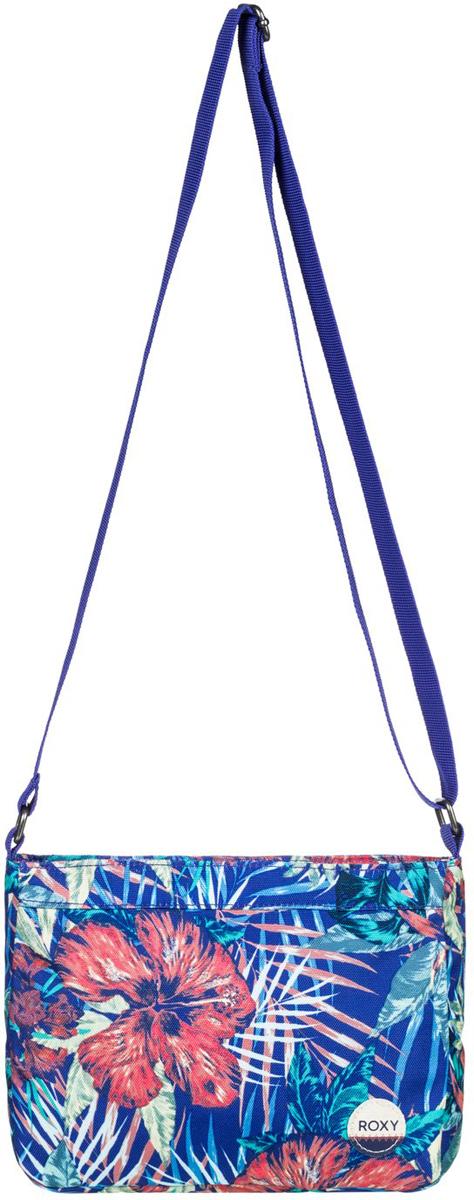 Сумка на плечо женская Roxy Sunday, цвет: голубой. ERJBP03408-PQF6ERJBP03408-PQF6Женская сумка на плечо от Roxy выполнена из полиэстера. Модель застегивается на молнию, внутри содержит карман на молнии. Задняя стенка оформлена прорезным карманом на молнии. Заплечная лямка съемная и регулируемая в длину.