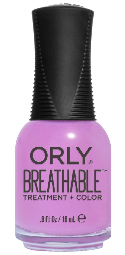 Orly Профессиональный дышащий уход (цвет) за ногтями 911 TLC 18 мл20911Бренд ORLY разработал первый профессиональный цветной дышащий уход за ногтями BREATHABLE. Инновационная дышащая технология BREATHABLE создаёт на ногте проницаемую пленку, позволяющую кислороду, влаге и активным ингредиентам препарата достигать поверхности ногтя. BREATHABLE от ORLY — уход и цвет в одном флаконе! Преимущества BREATHABLE от ORLY: 1. Способствует росту и укреплению ногтей благодаря дышащей технологии и формуле с аргановым маслом, витамином С и провитамином В5. 2. Формула «Все в одном» позволяет наносить BREATHABLE без использования базового и верхнего покрытий. 3. Запатентованная плоская кисть для удобного нанесения. · 4. Стойкость. Палитра BREATHABLE от ORLY — это роскошные оттенки и прозрачный блеск-уход для ультраглянца. Стильный маникюр и профессиональный уход – это новинка BREATHABLE от ORLY!