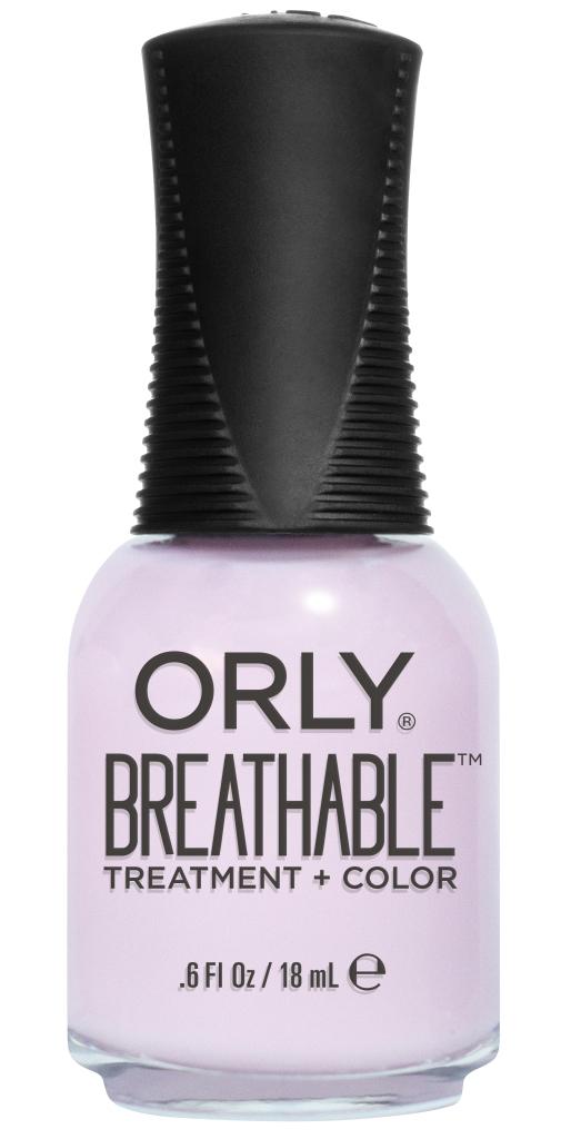 Orly Профессиональный дышащий уход (цвет) за ногтями 913 PAMPER ME 18 мл20913Бренд ORLY разработал первый профессиональный цветной дышащий уход за ногтями BREATHABLE. Инновационная дышащая технология BREATHABLE создаёт на ногте проницаемую пленку, позволяющую кислороду, влаге и активным ингредиентам препарата достигать поверхности ногтя. BREATHABLE от ORLY — уход и цвет в одном флаконе! Преимущества BREATHABLE от ORLY: 1. Способствует росту и укреплению ногтей благодаря дышащей технологии и формуле с аргановым маслом, витамином С и провитамином В5. 2. Формула «Все в одном» позволяет наносить BREATHABLE без использования базового и верхнего покрытий. 3. Запатентованная плоская кисть для удобного нанесения. · 4. Стойкость. Палитра BREATHABLE от ORLY — это роскошные оттенки и прозрачный блеск-уход для ультраглянца. Стильный маникюр и профессиональный уход – это новинка BREATHABLE от ORLY!