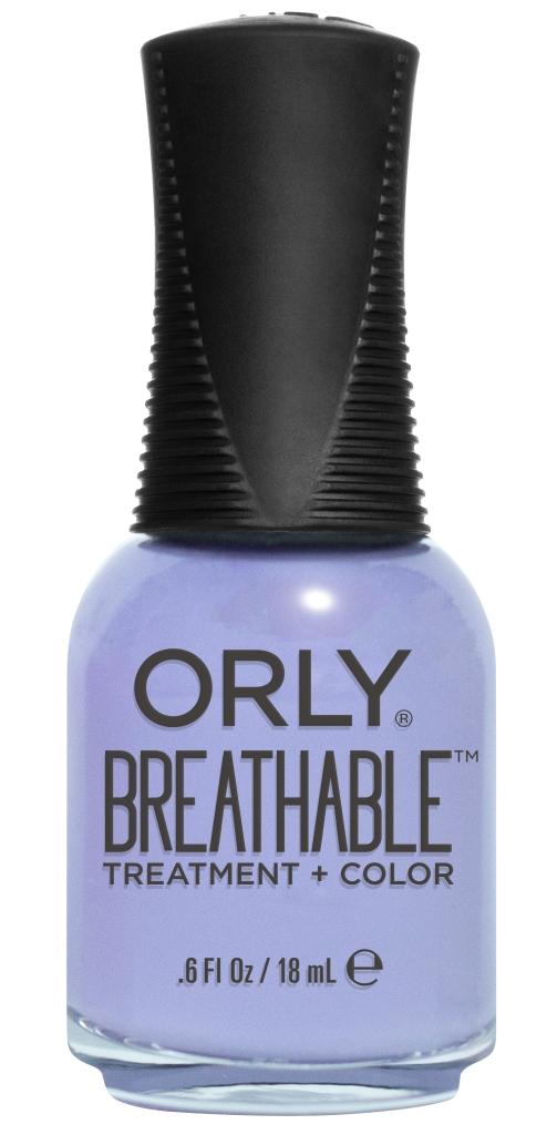 Orly Профессиональный дышащий уход (цвет) за ногтями 918 JUST BREATHE 18 мл20918Бренд ORLY разработал первый профессиональный цветной дышащий уход за ногтями BREATHABLE. Инновационная дышащая технология BREATHABLE создаёт на ногте проницаемую пленку, позволяющую кислороду, влаге и активным ингредиентам препарата достигать поверхности ногтя. BREATHABLE от ORLY — уход и цвет в одном флаконе! Преимущества BREATHABLE от ORLY: 1. Способствует росту и укреплению ногтей благодаря дышащей технологии и формуле с аргановым маслом, витамином С и провитамином В5. 2. Формула «Все в одном» позволяет наносить BREATHABLE без использования базового и верхнего покрытий. 3. Запатентованная плоская кисть для удобного нанесения. · 4. Стойкость. Палитра BREATHABLE от ORLY — это роскошные оттенки и прозрачный блеск-уход для ультраглянца. Стильный маникюр и профессиональный уход – это новинка BREATHABLE от ORLY!