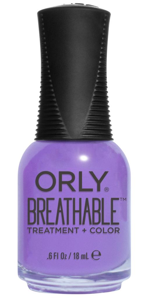 Orly Профессиональный дышащий уход (цвет) за ногтями 920 FEELING FREE 18 мл20920Бренд ORLY разработал первый профессиональный цветной дышащий уход за ногтями BREATHABLE. Инновационная дышащая технология BREATHABLE создаёт на ногте проницаемую пленку, позволяющую кислороду, влаге и активным ингредиентам препарата достигать поверхности ногтя. BREATHABLE от ORLY — уход и цвет в одном флаконе! Преимущества BREATHABLE от ORLY: 1. Способствует росту и укреплению ногтей благодаря дышащей технологии и формуле с аргановым маслом, витамином С и провитамином В5. 2. Формула «Все в одном» позволяет наносить BREATHABLE без использования базового и верхнего покрытий. 3. Запатентованная плоская кисть для удобного нанесения. · 4. Стойкость. Палитра BREATHABLE от ORLY — это роскошные оттенки и прозрачный блеск-уход для ультраглянца. Стильный маникюр и профессиональный уход – это новинка BREATHABLE от ORLY!