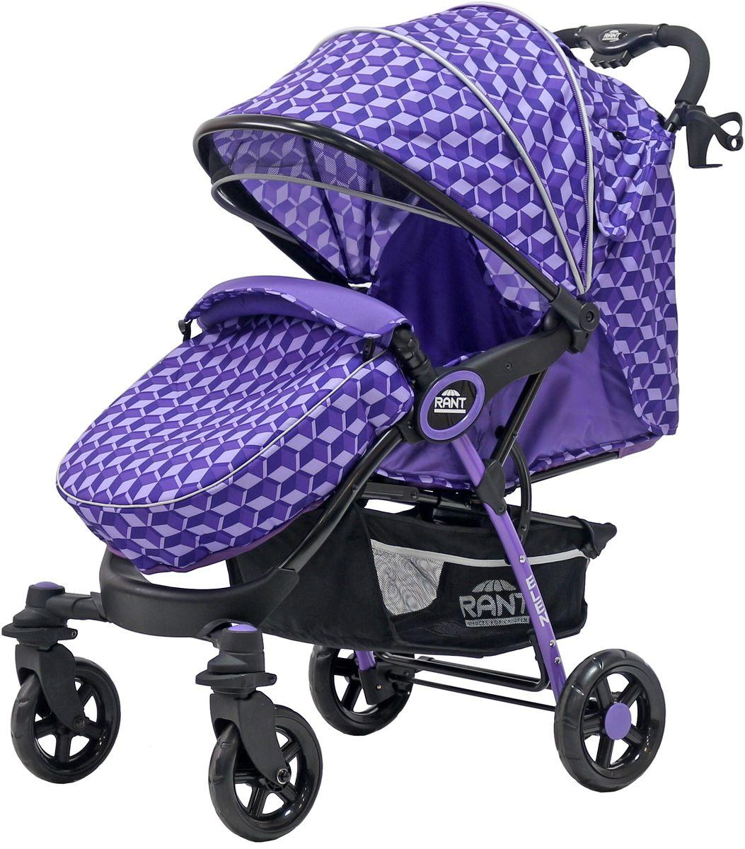 Rant Коляска прогулочная Elen цвет 3D фиолетовый