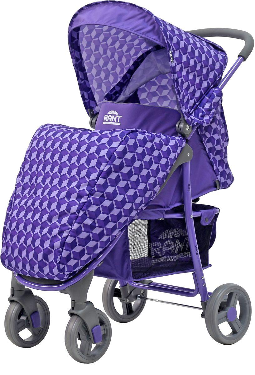 Rant Коляска прогулочная Kira цвет 3D фиолетовый