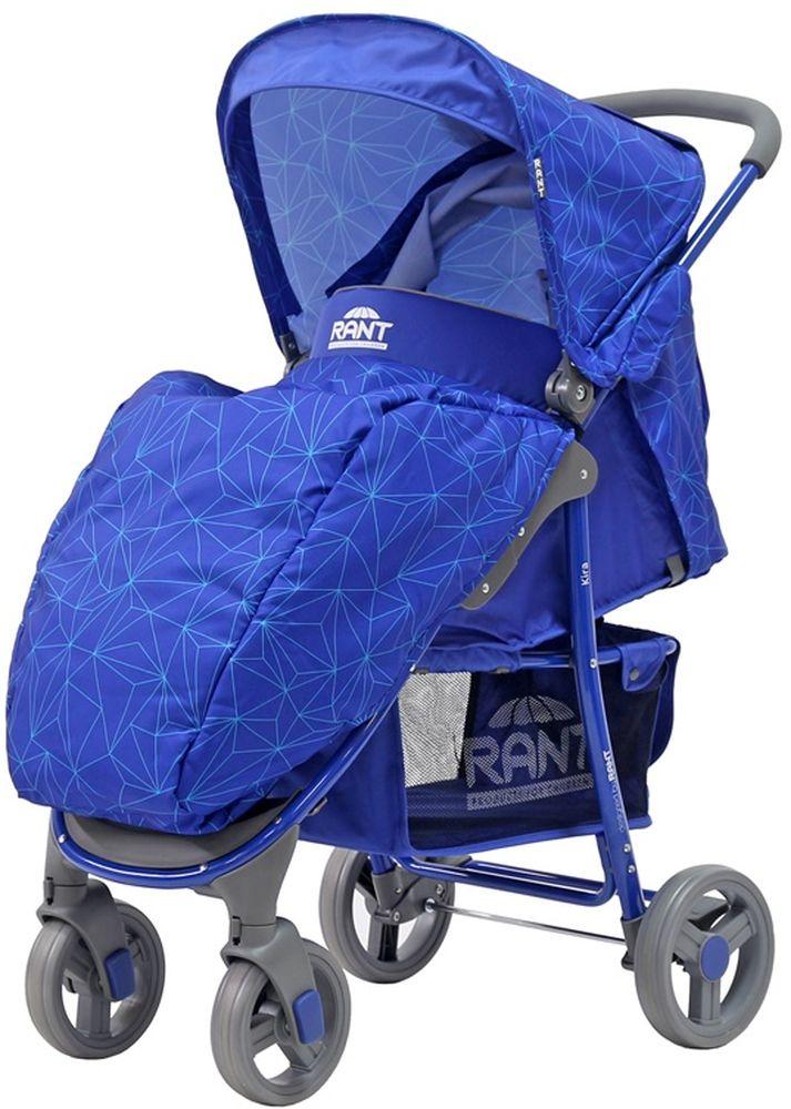 Rant Коляска прогулочная Kira Crystal синий