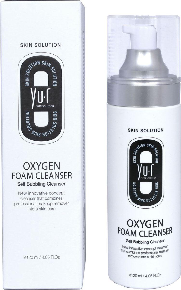 Yu.R, Кислородная пенка для умывания, Oxygen Foam Cleanser, 120 мл8809290736130Кислородная пенка для умывания идеально подходит для снятия макияжа и очищения кожи. При нанесении на лицо образует маленькие кислородные пузырьки, которые лопаются на коже во время умывания, насыщая ее так необходимым ей кислородом. Кислород способствует выработке коллагена и эластина, предупреждающего преждевременное увядание. Пенка проникает глубоко в поры, очищает от загрязнений любого типа, нормализует гидролипидный баланс кожи и обеспечивает идеальный цвет лица.