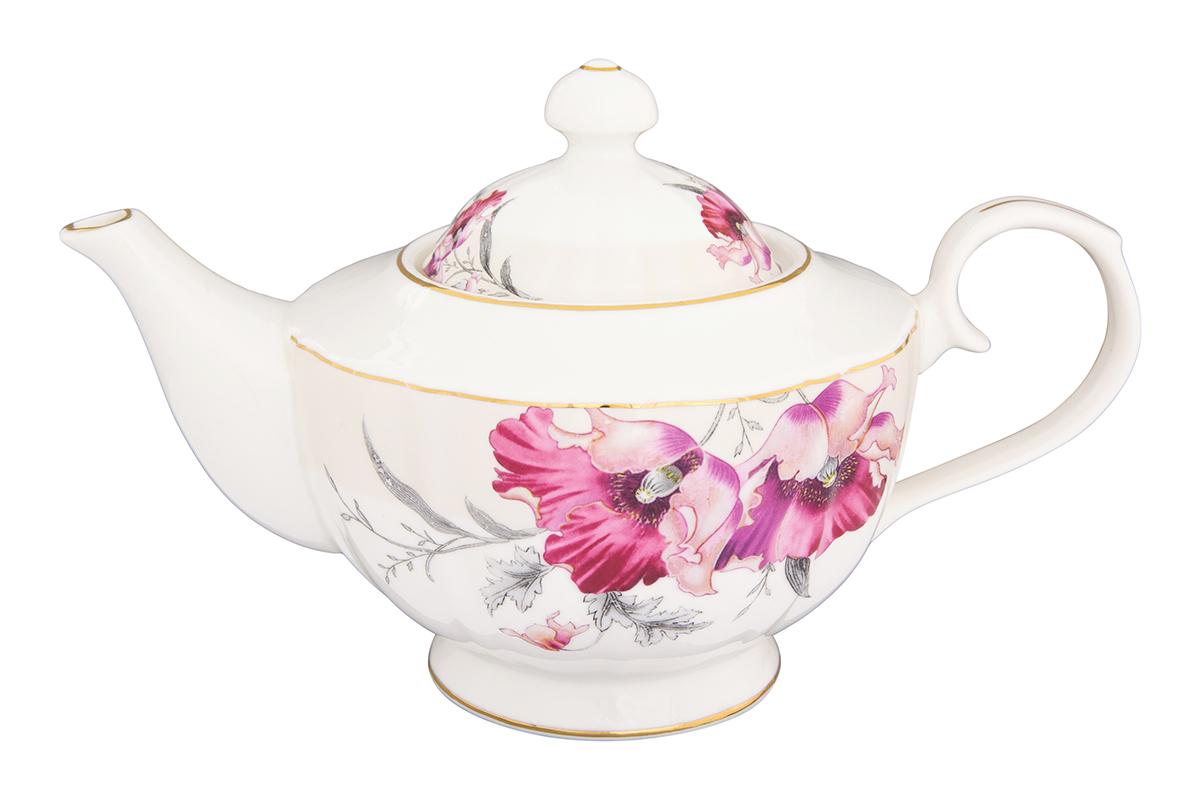 Чайник заварочный Elan Gallery Серебристый мак, 1,1 л740286Изысканный заварочный чайник украсит сервировку стола к чаепитию. Благодаря красивому утонченному дизайну и качеству исполнения он станет хорошим подарком друзьям и близким. Объем 1100 мл. Изделие в подарочной упаковке.