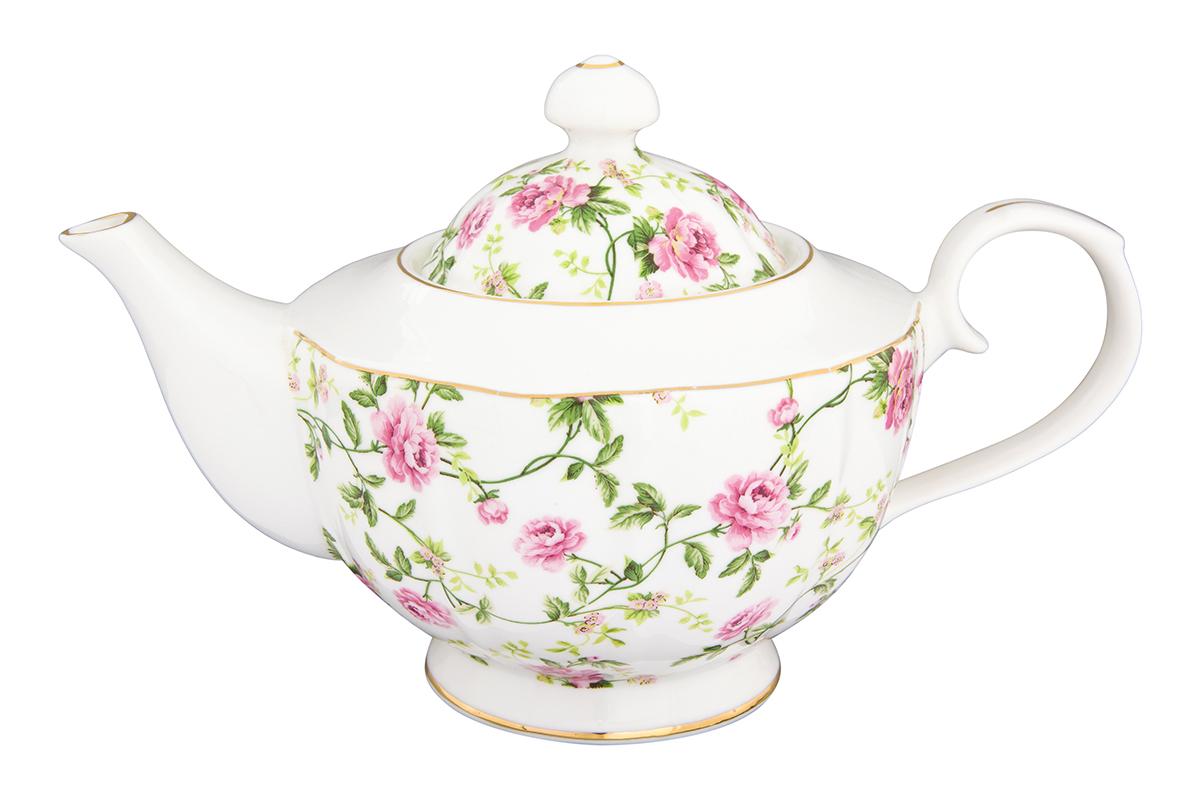 Чайник заварочный Elan Gallery Плетистая роза, 1,1 л740288Изысканный заварочный чайник украсит сервировку стола к чаепитию. Благодаря красивому утонченному дизайну и качеству исполнения он станет хорошим подарком друзьям и близким. Объем 1100 мл. Изделие в подарочной упаковке. Соберите всю коллекцию предметов сервировки Плетистая роза и Ваши гости будут в восторге!