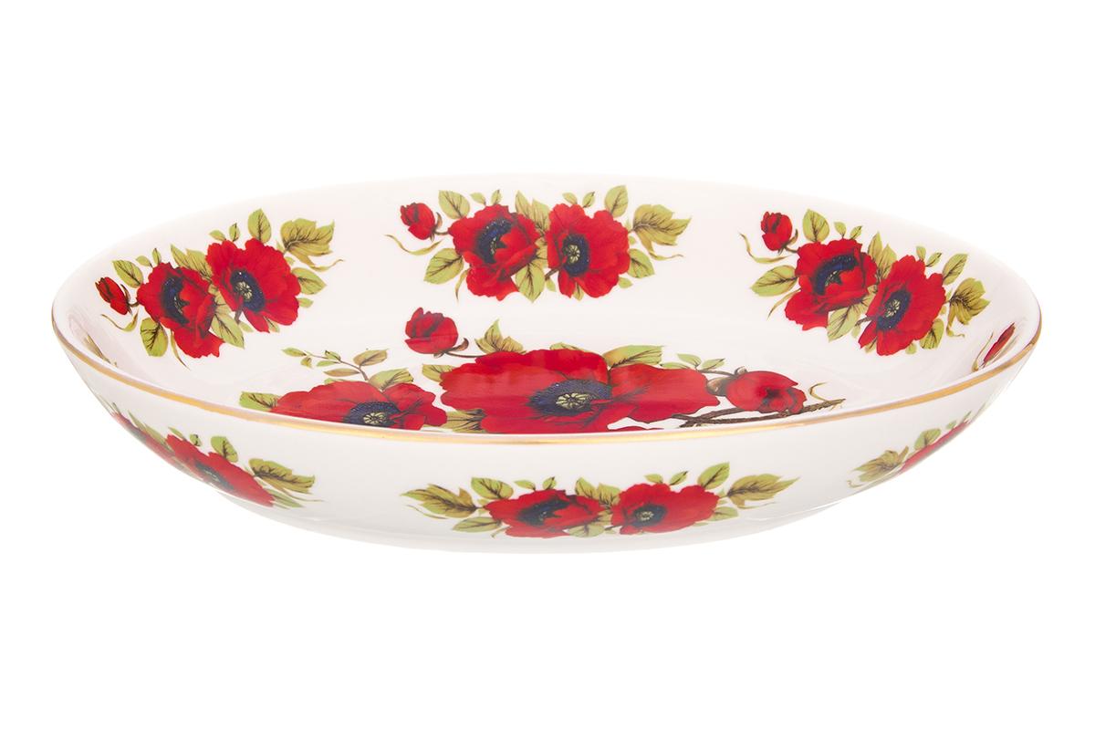 Блюдо Elan Gallery Маки, 600 мл740471Блюдо для слоеных салатов Маки - это прекрасный вариант сервировки. Размер этого блюда подходит и для подачи горячего, и для приготовления и хранения слоеных салатов. Соберите всю коллекцию предметов сервировки Маки и Ваши гости будут в восторге! Изделие имеет подарочную упаковку, поэтому станет желанным подарком для Ваших близких!