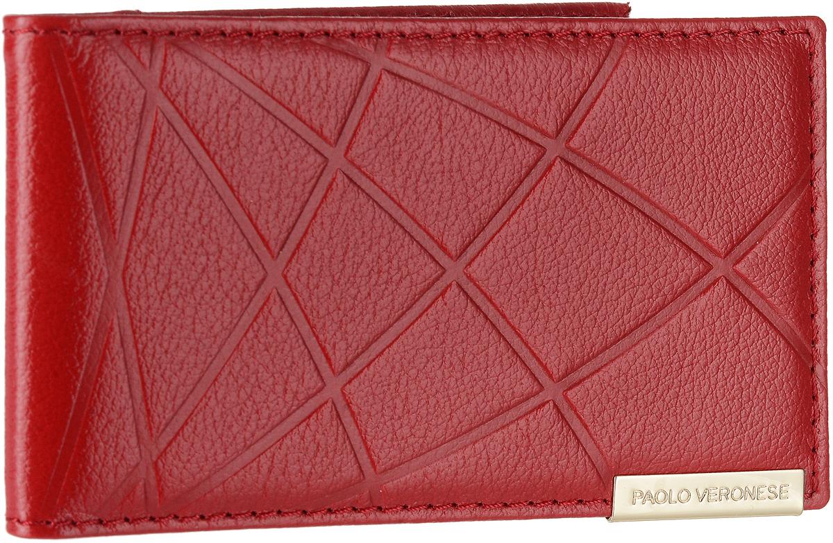 Визитница женская Paolo Veronese Коралл, цвет: красный. PV-NK011-KR0001-000PV-NK011-KR0001-000Женская визитница Paolo Veronese Коралл выполнена из натуральной кожи. Изделие имеет два кармана из пластика, пластиковый блок с выемкой для пальца на четырнадцать кредитных карт.